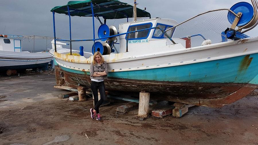 Η Μαρκέλλα Σαράιχα επισκέφθηκε την Κορώνη