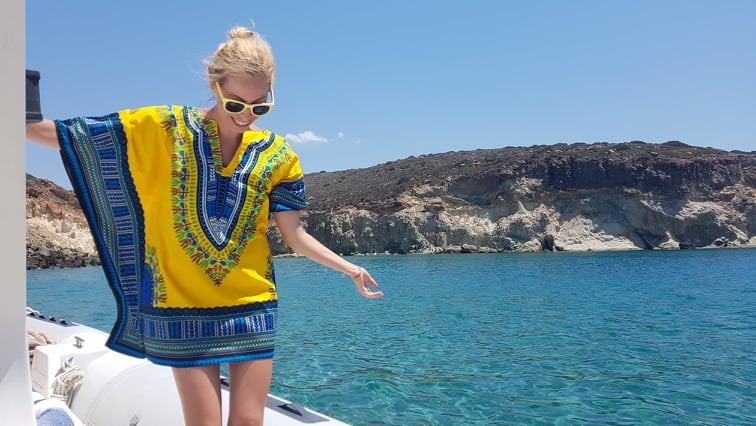 Η Μαρκέλλα Σαράιχα σε ταξιδεύει στην Ελλάδα με το travelgirl.gr
