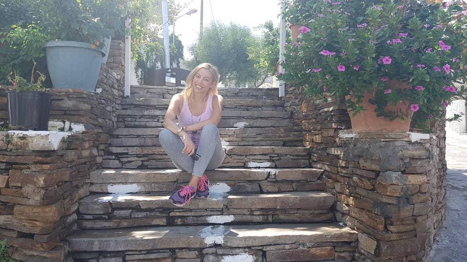 Η Μαρκέλλα Σαράιχα στα χωριά της Νάξου