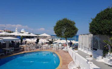 Η Μαρκέλλα Σαράιχα στο Oasis Beach Hotel