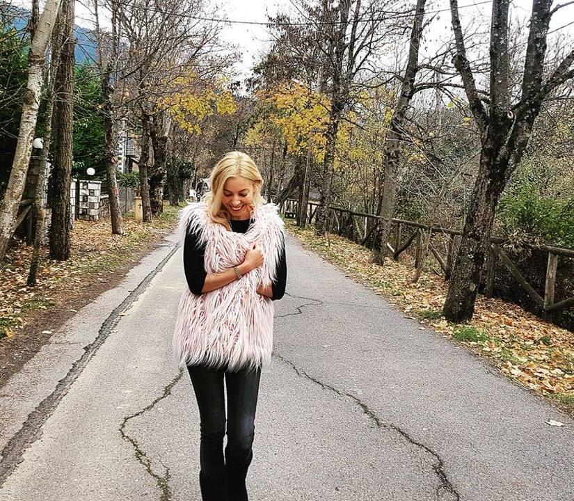 Η Μαρκέλλα Σαράιχα ταξιδεύει στην Βυτίνα