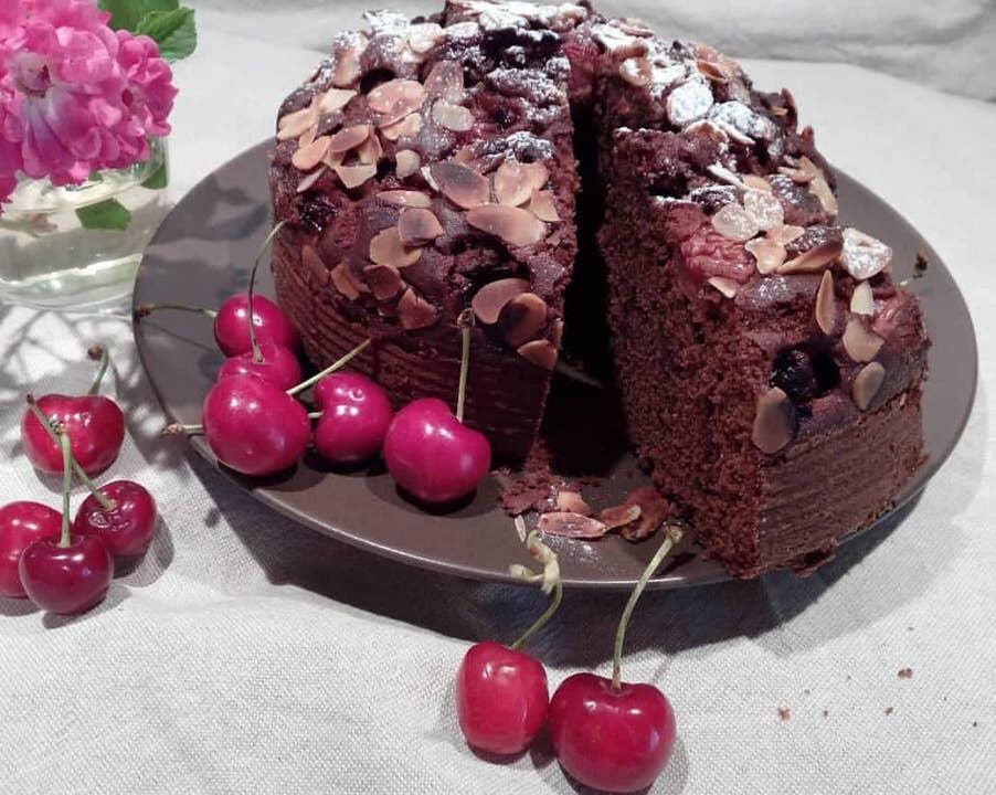Συνταγή για κέικ με κεράσια!
