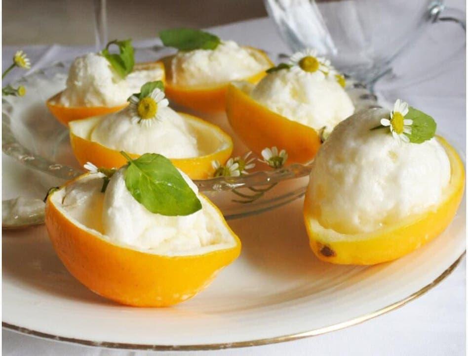 Συνταγή για το πιο εύκολο παγωτό σορμπέ λεμόνι!