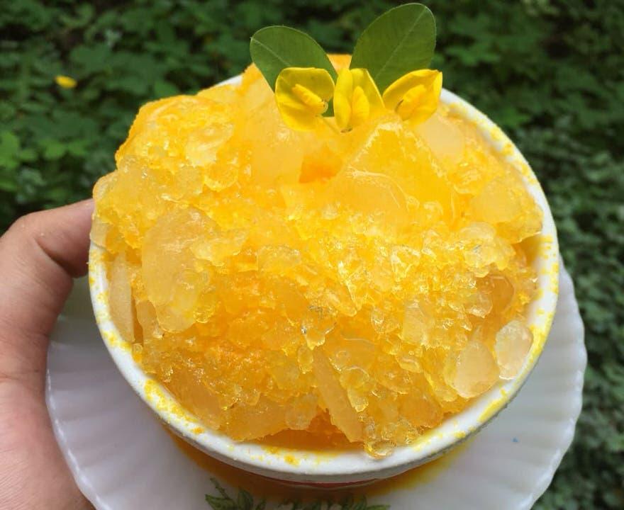 Συνταγή για γρανίτα πορτοκάλι