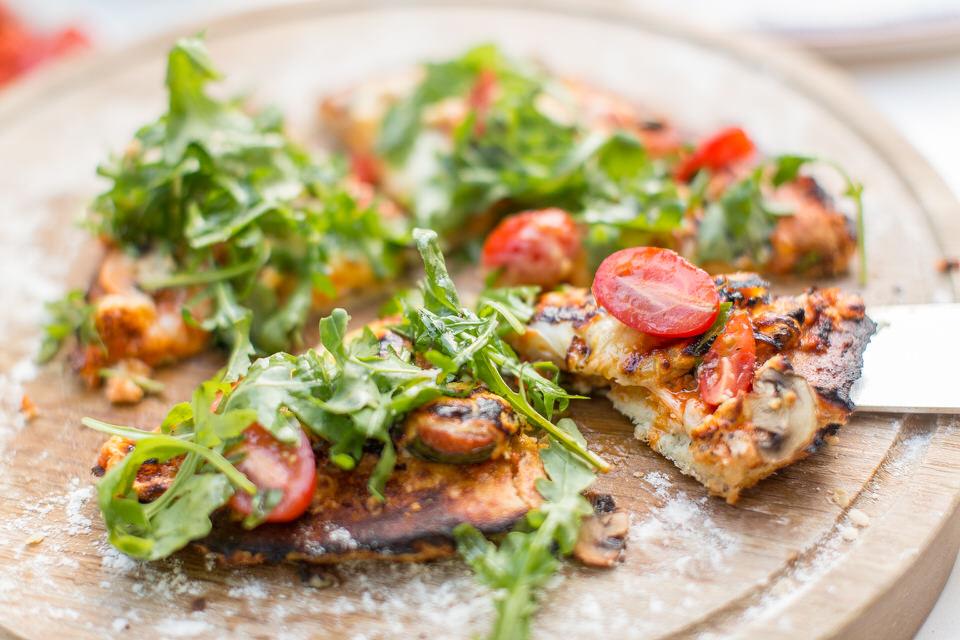 Συνταγή για καλοκαιρινή πίτσα