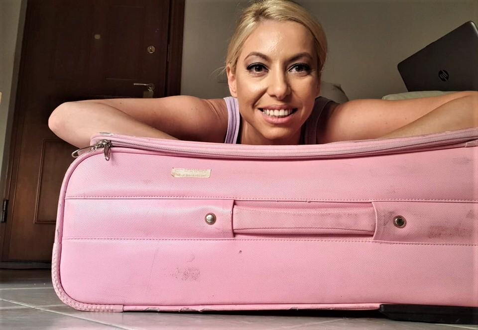 Η Μαρκέλλα Σαράιχα είναι το travelgirl