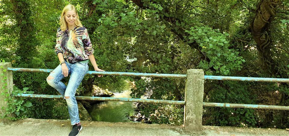 Η Μαρκέλλα Σαράιχα στην Ζαχλωρού Καλαβρύτων