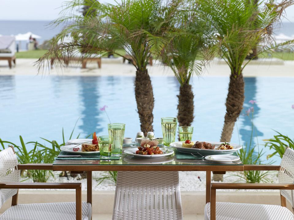 Εστιατόρια με διεθνή κουζίνα στο Mitsis Alila Exclusive Resort & Spa