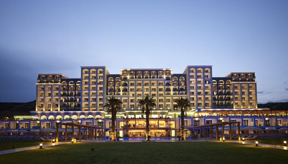 Η Μαρκέλλα Σαράιχα στο Mitsis Alila Exclusive Resort & Spa