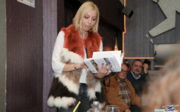 Η Μαρκέλλα Σαράιχα Φέσσα παρουσιάζει το πρώτο της βιβλίο