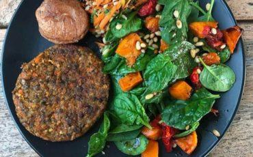 Συνταγή για μπιφτέκια λαχανικών