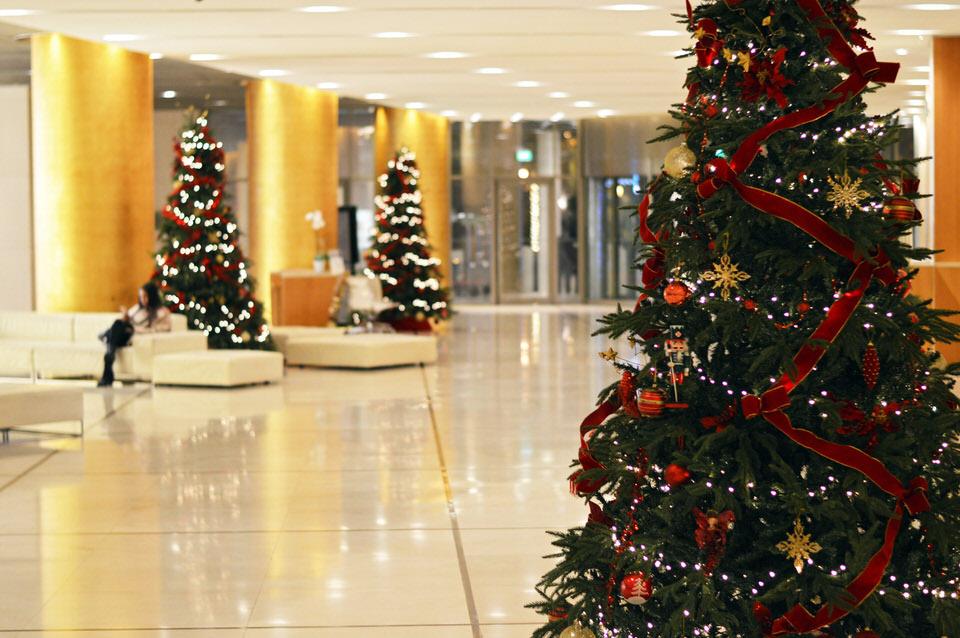 Χριστούγεννα στο Hilton