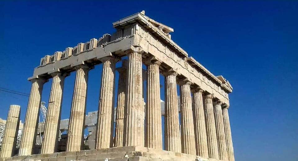 Ο Παρθενώνας-Το κορυφαίο αξιοθέατο της Ελλάδας
