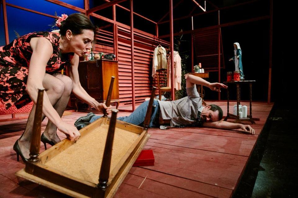 Τριαντάφυλλο στο στήθος του Τενεσί Ουίλιαμς στο θέατρο Τέχνης