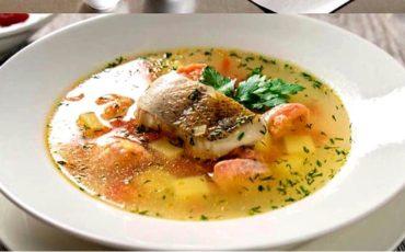 συνταγή για βελουτέ ψαρόσουπα με λαχανικά
