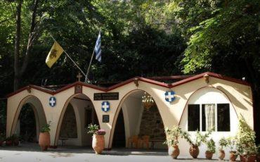 Η Εκκλησία της Αγίας Παρασκευής στην κοιλάδα των Τεμπών
