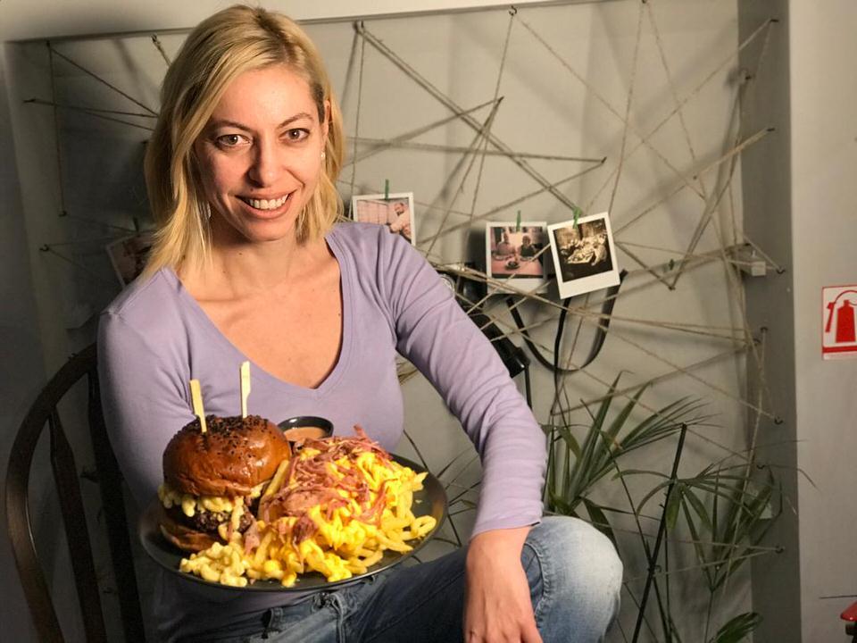 H Μαρκέλλα Σαράιχα Φέσσα στο Benjamin Burger House
