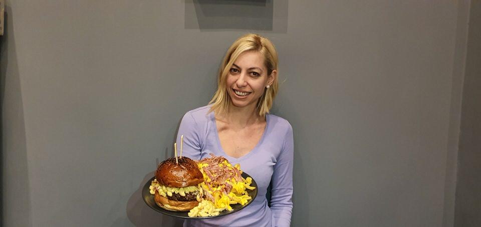 Η Μαρκέλλα Σαράιχα Φέσσα στο Benjamin Burger House
