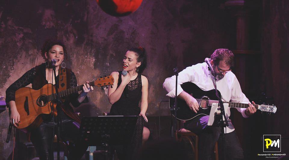 Η Ελπίδα Γαδ, η Κωνσταντίνα Κορδούλη και ο Μανώλης Μπρίμπος στο Faust Bar-Theatre-Arts!