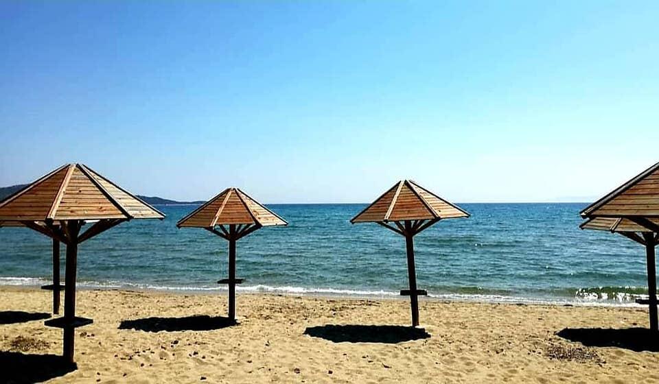 Παραλία του Σχοινιά στο Μαραθώνα