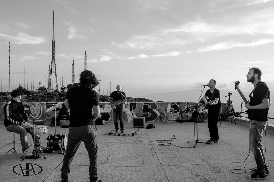 Οι Group PάrΩdy στη μουσική σκηνή Σφίγγα