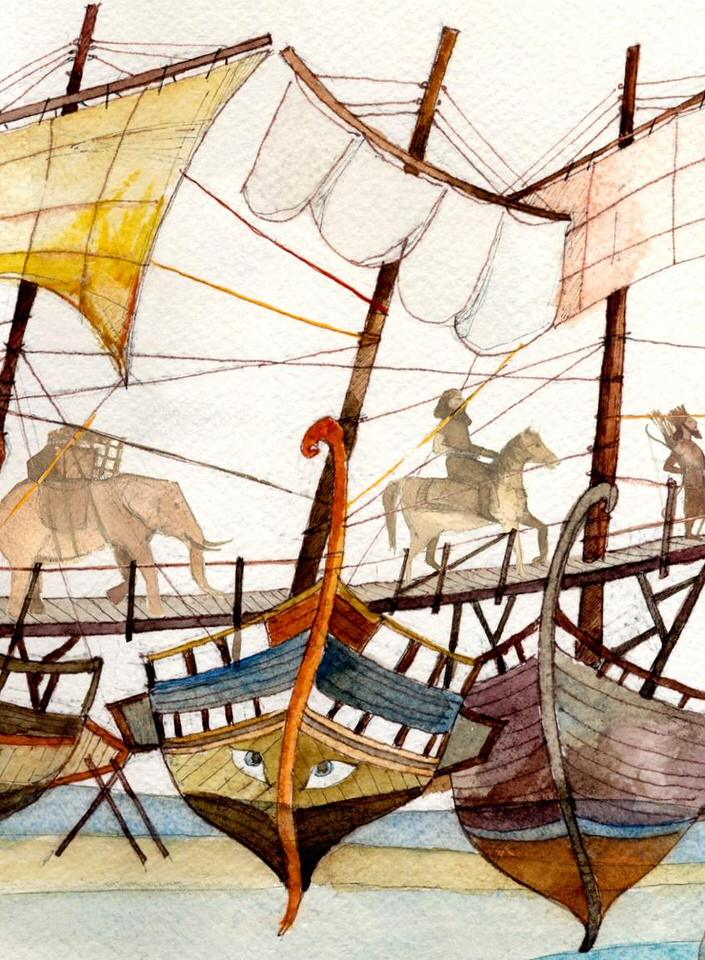 Πέρσες του Αισχύλου για παιδιά του Κώστα Χατζηεμμανουήλ το Σάββατο στον Ιανό