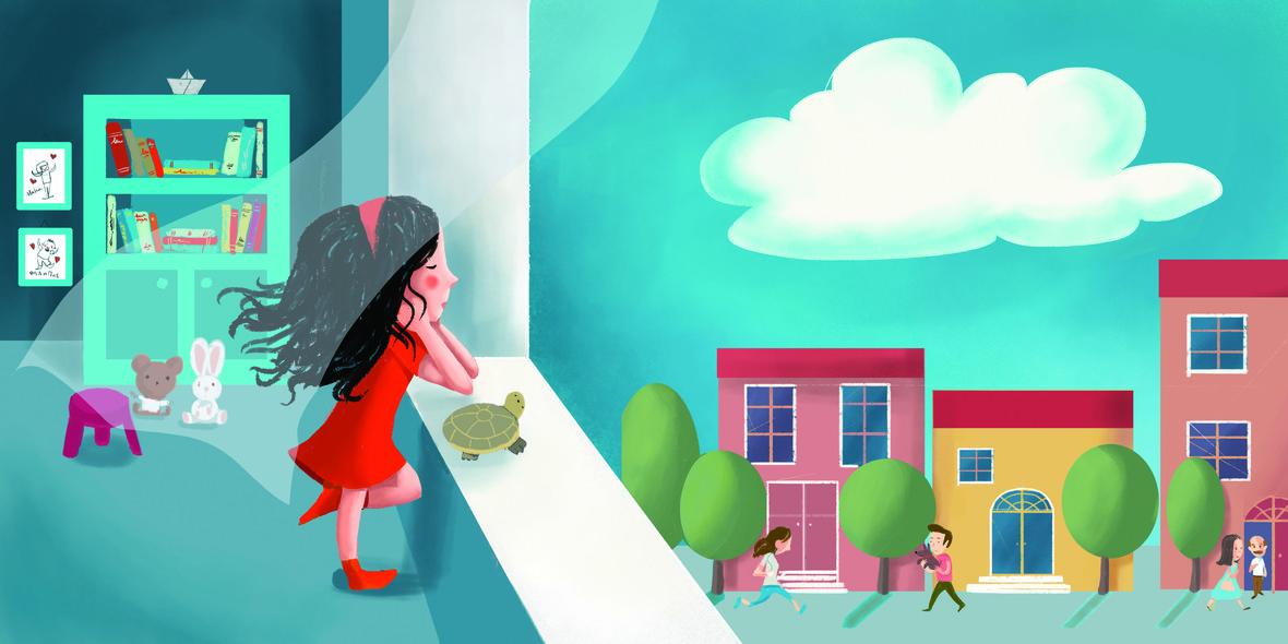 Ένα σύννεφο για τα γενέθλιά μου: Το νέο βιβλίο της Ελένης Ανδρεάδη για παιδιά από 4 ετών από τις εκδόσεις Μεταίχμιο