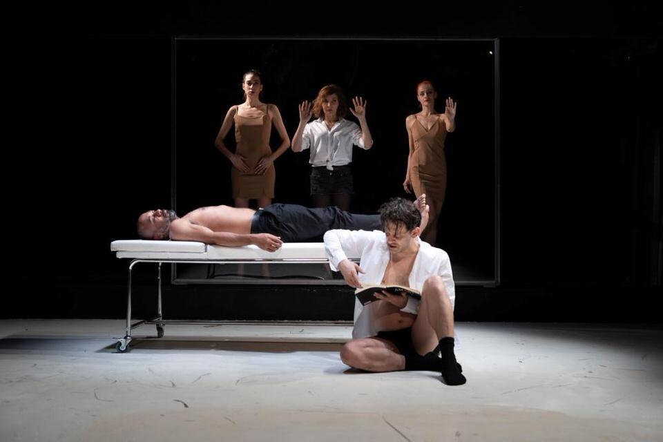 Έντμοντ του David Mamet στο Θέατρο Τέχνης