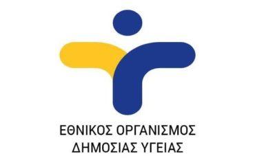ΕΟΔΥ: Έκκληση προς τους πολίτες για Ατομική Προφύλαξη και Κοινωνική Ευθύνη