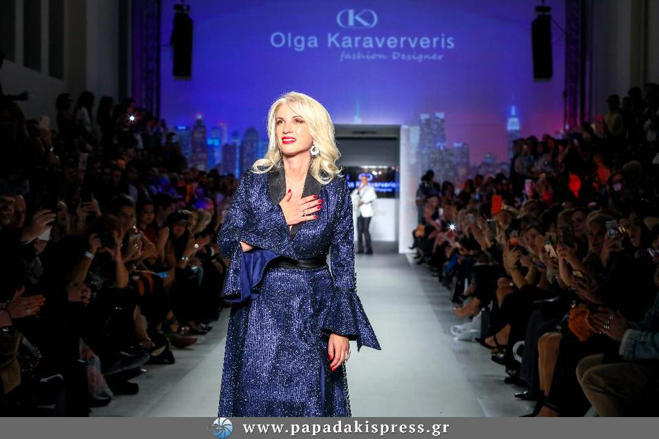 Η Ελληνίδα σχεδιάστρια Όλγα Καραβερβέρη παράγει βαμβακερές μάσκες για να βοηθήσει στις ελλείψεις που υπάρχουν στην ελληνική αγορά