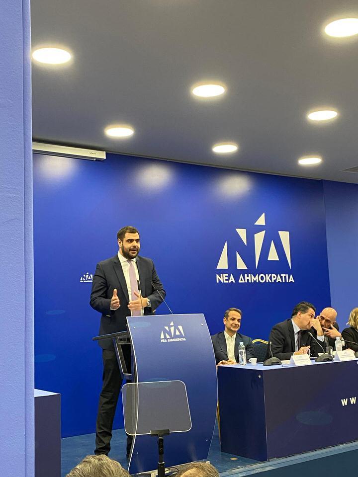 Παύλος Μαρινάκης-Πρόεδρος της ΟΝΝΕΔ
