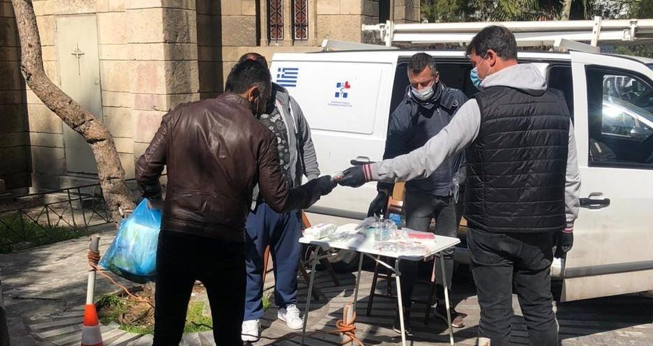 Στοχευμένες παρεμβάσεις από τον ΕΟΔΥ σε ενεργούς χρήστες ενδοφλέβιων ναρκωτικών μέσω προγραμμάτων κινητών μονάδων στην Αθήνα