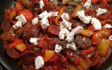 συνταγή για το παραδοσιακό σπετζοφάι Πηλίου