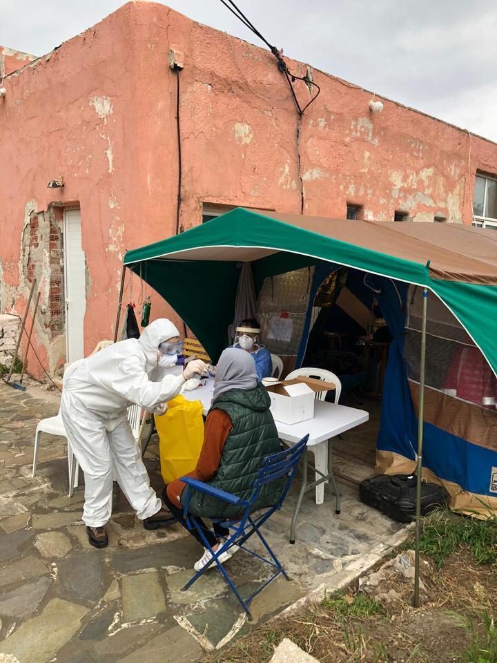 Κλιμάκιο του ΕΟΔΥ στην Κέα, για τη διασφάλιση της υγείας προσφύγων και μεταναστών