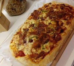 Η Στέλλα Γίδαρη μας δίνει την συνταγή για την πιο νόστιμη πίτσα!