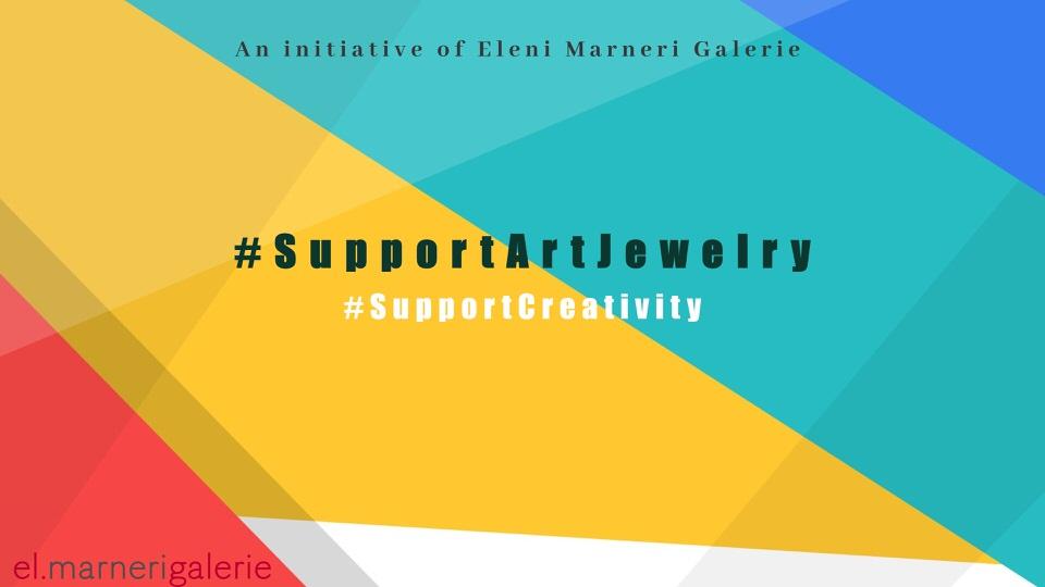 #SupportCreativity #SupportArtJewelry: Μια πρωτοβουλία που στόχο έχει να στηρίξει τους σχεδιαστές μέσα από την παρουσίαση και πώληση των κοσμημάτων τους