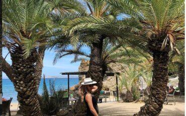 Η παραλία στο Βάι Λασιθίου