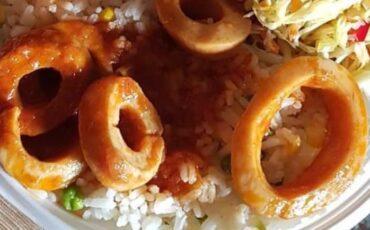 Συνταγή για κοκκινιστά καλαμαράκια