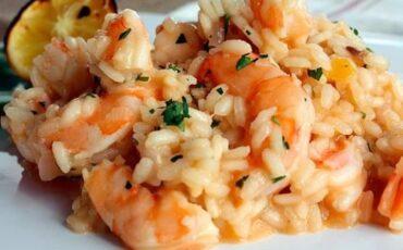 Συνταγή για το πιο νόστιμο ριζότο με γαρίδες