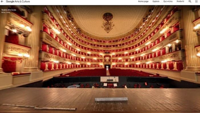 Ταξίδι στην Ιταλία: Ψηφιακή βόλτα στην Σκάλα του Μιλάνο
