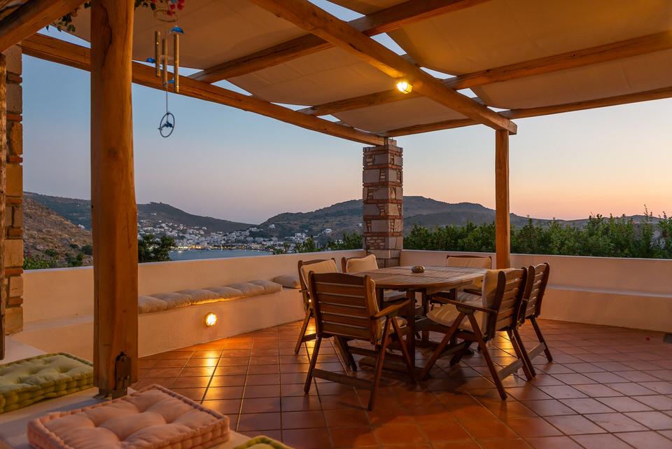Η Villa Margarita στο Vista Blue Patmos
