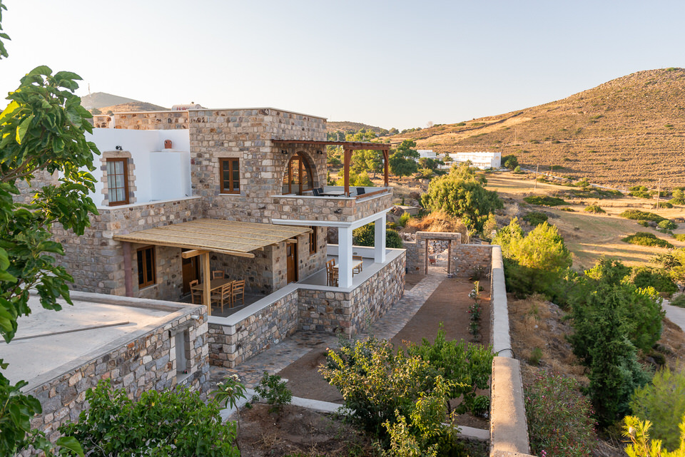 Η Villa Sofia στο Blue Vista Patmos