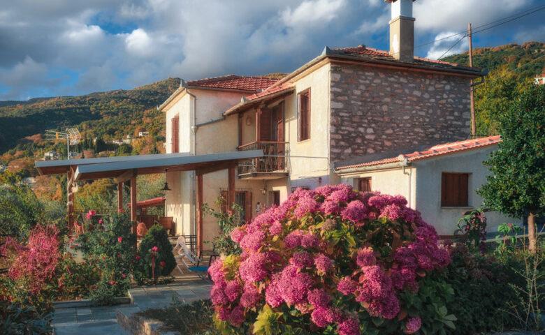 Villa Marina: Μία ειδυλλιακή διαμονή για ήρεμες διακοπές στις Μηλιές Πηλίου