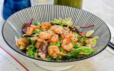 Συνταγή για την πιο νόστιμη σαλάτα με γαρίδες!