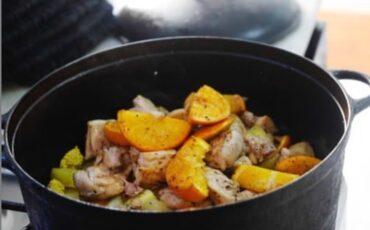 Συνταγή για κοτόπουλο με σάλτσα από εσπεριδοειδή