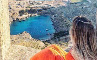 """Λίνδος: Ταξίδι στην """"Κυκλαδίτισσα της Ρόδου"""""""