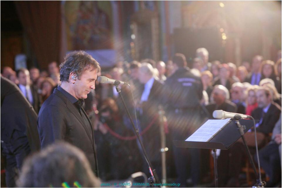 Megaron Online: Συναυλία στον Ιερό Ναό του Αγίου Παντελεήμονος Αχαρνών με τον Γιώργο Νταλάρα