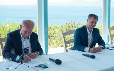 Στρατηγική συμφωνία μεταξύ Υπουργείου Τουρισμού και TUI