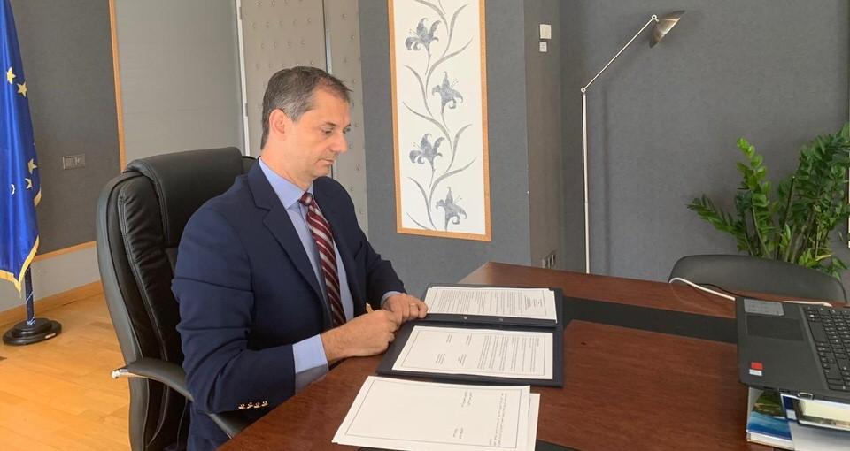 Υπογραφή Κοινού Προγράμματος Δράσης Ελλάδας - Ηνωμένων Αραβικών Εμιράτων στον τομέα του τουρισμού
