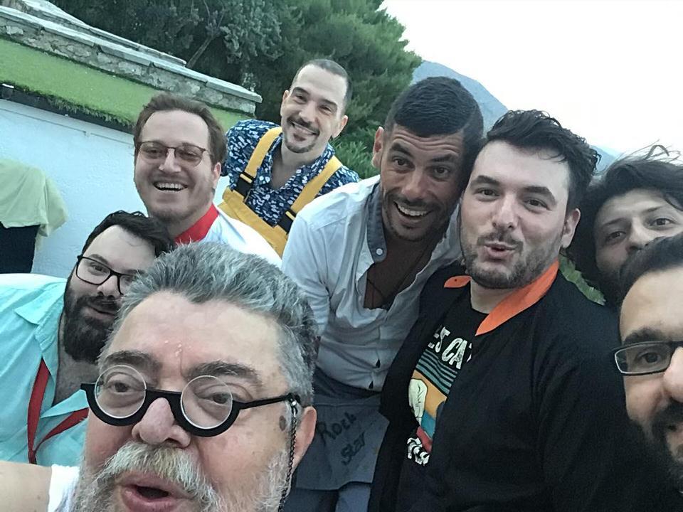 """Κραουνάκης+Σπείρα στο θερινό σινεμά """"Αττικόν"""" στο Γαλάτσι"""